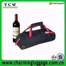 1 bottle wine 600D sports bags tote wine cooler bag