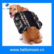 Camouflage Waterproof Dog Backpack Pattern