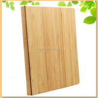 new design bamboo flip case for i pad air 2