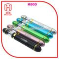 Kamry k800 ecig con el cargador usb venta makkets en la visión de la batería ecig, cigarrillo electrónico riesgos para la salud