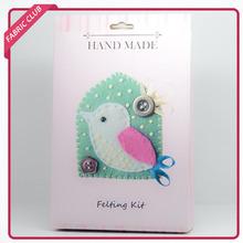 new fashion needle felting kit felting wool for bird