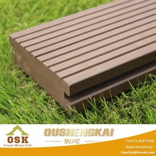 140*38.5 Wood Plastic Composite , Recyclable, Solid Wpc Decking Floor (OD-140H-38A)
