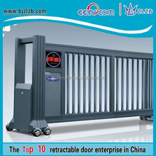 Elegant electric retractable driveway gate for factory