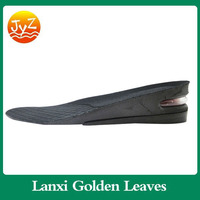 unisex air cushion Insole height shoe inserts, increase height insole waxed cotton shoelaces