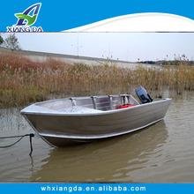 2015 High Quality China CE Certificate V Bottom Aluminum Boats