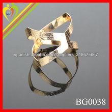 Hallazgos de oro de la nueva llegada 2014 nuevo diseño y moda pulsera pequeña cantidad es aceptable para la pulsera