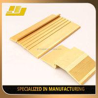 brass step nosing stair parts