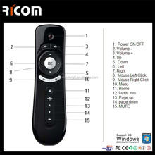 air mouse for google chromecast,arab 2.4g air mouse--T1-Shenzhen Ricom