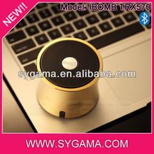 Hot high end tube stack subwoofer bluetooth portable speaker