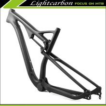 BB30 Bike Frames FM069 Lightcarbon High End BB30 Bike Frames Cabon Full Suspension for Mountain Bikes 29er