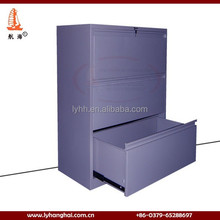 2015 hot sale military& office furniture 3 drawer vertical file cabinet in grey