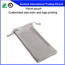 customized velvet jewelry pouches wholesale printed logo on pouches free sample