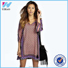 Summer Style Women Vintage Style Floral Print Casual Beach Shift Dress Boho Hippie Vestido Dress