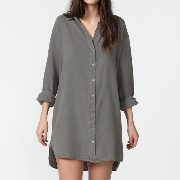 wholesale custom women dress shirts floor length shirt dress, View ...