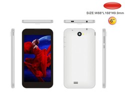 6 inch smartphone With Dual core Bluetooth MTK6572 android IPS screen