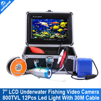 30 Cable Underwater Fishing Camera Fish Finder Underwater DeLight HD 800TVL Fishing Camera