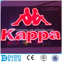 Guangdong direct manufacturer with backboard LED halo lit signage