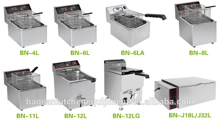 kitcken kfc goreng mesin peralatan kfc penggorengan listrik dengan timer