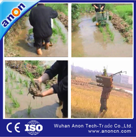 ANON paddy farmers use hand opreated rice transplanter price in india
