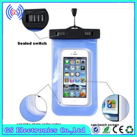 Universal Water Proof PVC smartphone mobile phone cases waterproof case for samsung galaxy s3 mini i8190
