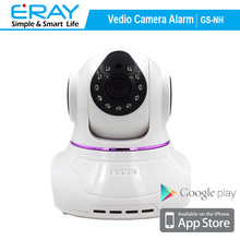 720P megapixel two way audio P2P indoor PTZ wireless IP camera with motion detection and home appliance control