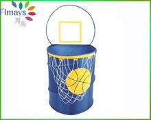 2015 newest Hot sexy nylon basket printing storage bin beautiful Laundry bin