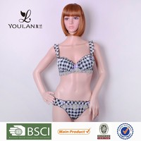 2015 New Product Sexy Hot Girl Back Closure Female Underwear Models