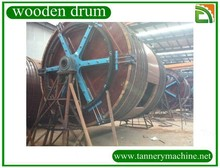 Used tannery drum for goat sheep cow skin