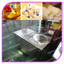 Alibaba sales hot items single pan with six pre-cooling pans flat pan fried ice cream machine