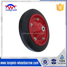 13X3 solid rubber wheel for wheelbarrow
