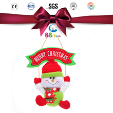2015 Popular Top Quality Plush Toy Christmas Crafts