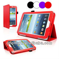 Wallet Leather Stand Case Cover For Samsung Galaxy Tab 3 P3200 P3210 7.0 Inch