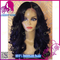 Cheryl hair natural looking wavy Indian hair lace front wig free style parting virgin hair wig natural color with bleach knots
