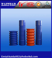 hot sell red,blue,black rubber silicone garden hose