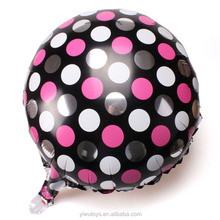 New arrival promotional white black polka dots baloon decor
