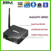 Rikomagic android 4.4 MINI PC Webcam 5 Million Pixels, 2GB DDR3 8G/16G Flash,5 million pixels camera