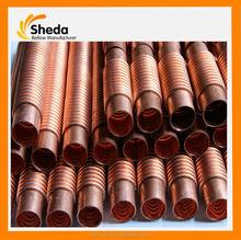 flexible bellow copper /flex brass pipe bellows Copper Bellow Compensator