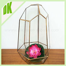 mixed - Ball Glass Flower Vase Micro Landscape Fairy Garden DIY Terrarium Bottle - gold flower murano glass vase made in china
