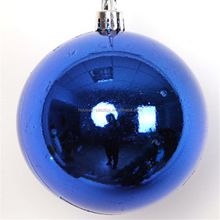 Popular thermoforming plastic ganit christmas ball for Christmas decoration