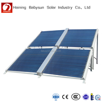 CE certificated low pressure evacuated tube solar thermal collector price
