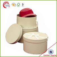 2014 High quality Hat box set wholesale in shanghai