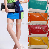 leather envelope bag Day clutch Chain bag clutches women