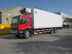 10-15Tons DongFeng left hand driver /right hand driver refrigerated van and truckinsulated van truck/cooling van truck for sale
