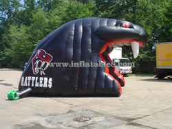 inflatable helmet/inflatable camping tent/inflatable football helmet tunnel