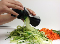 1шт spirelli Терка овощей спиральные slicer, легко Спиральные растительное & плоды среза Торнадо мир кухни Овощерезка