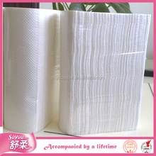 Disposable N,V, C, M fold cleaning hand towel tissue OEM
