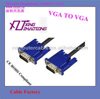 Factory Wholesale price 10ft VGA Male to Male Cable 3+6 for Computer