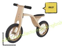 wooden balance bike toy 12'' obamo