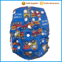 All in two Baby Reusable Cloth Diaper /lovely cloth diaper with pads manufacturer Potty Training pants