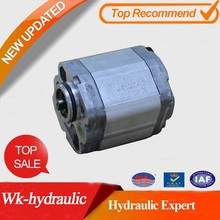 Hydraulic gear oil pump of WK-Hydraulic P/N:WKP1Q0** interchangeably marzocchi gear pump P/N:KIPD**G